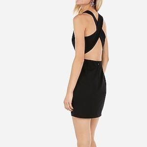 Express black dress